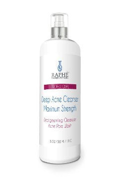 Maximum Strength Deep Skin Acne Cleanser & Depigmenting Wash, 17oz - 6pcs