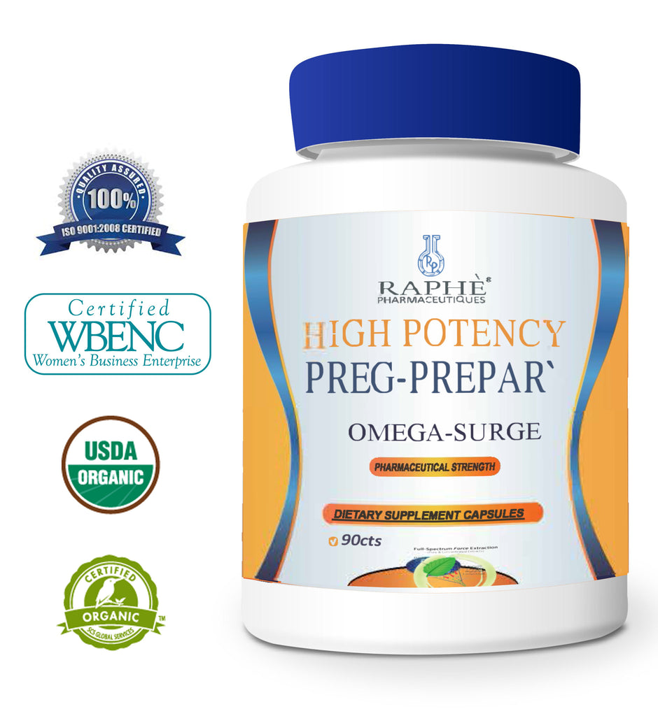 Preg-Prepar` For Ovarian Health, Egg & Cervical Mucus Quality 90 Capsules