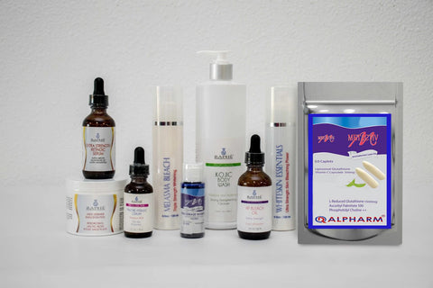 Skin Lightening Product Selections For Oily Skin Color