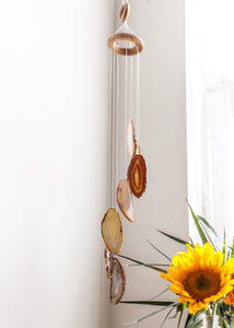 Agate Wind Chime - Love & Light Jewels