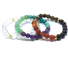 Illuminated Chakras Stack - Love & Light Jewels