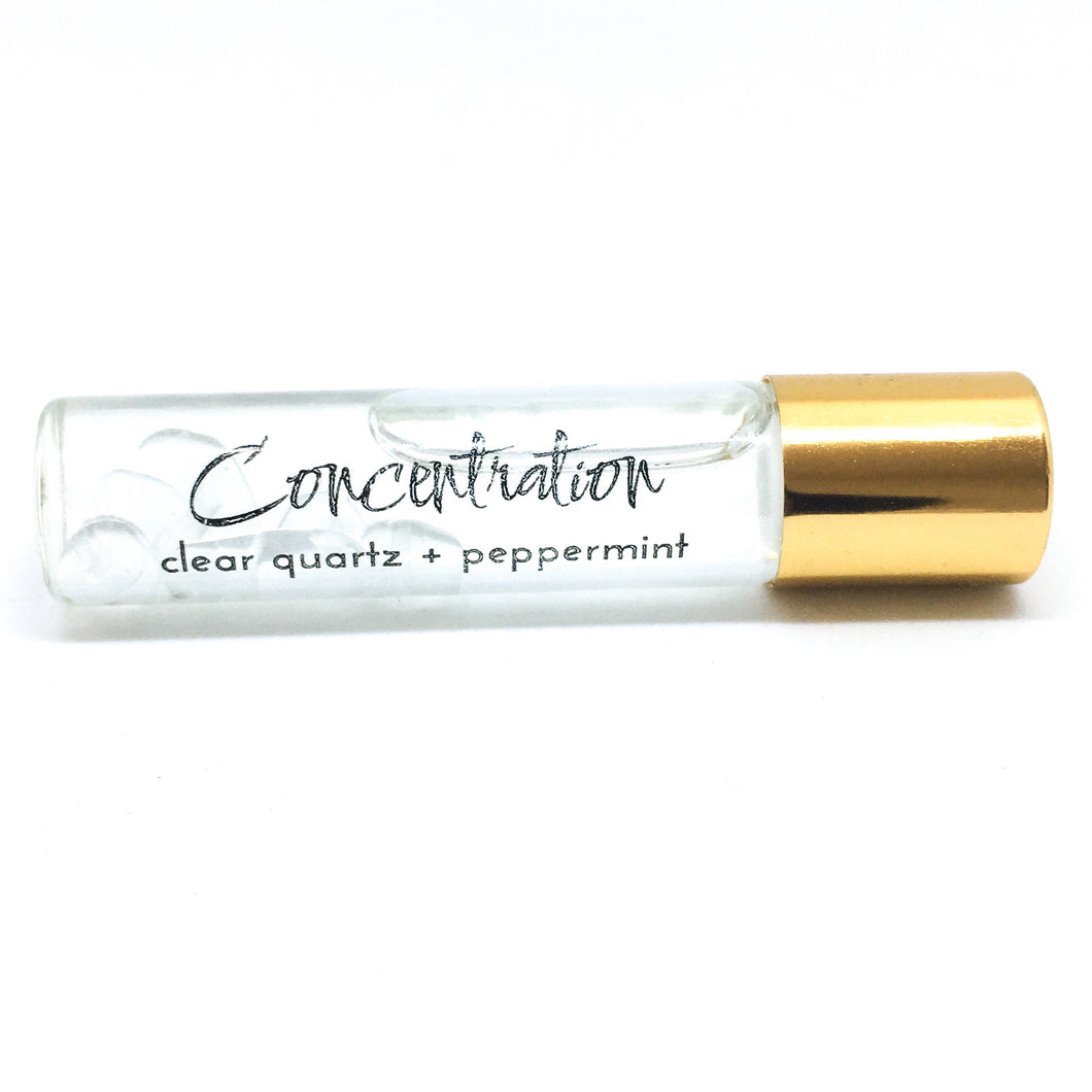 Crystal Infused Concentration Roll-On - Love & Light Jewels