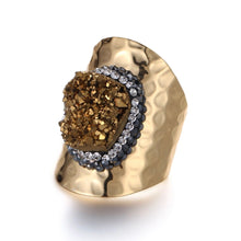 Show Stopper Druzy Cocktail Ring - Love & Light Jewels