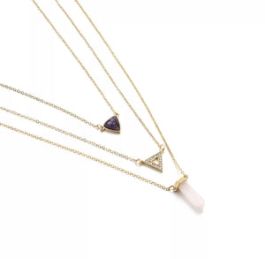 Felicity Layered Necklace - Love & Light Jewels