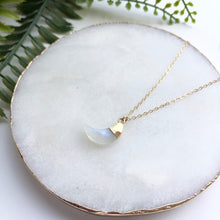 14K Gold Filled Crescent Moon Necklace - Love & Light Jewels