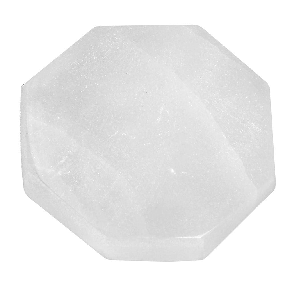 Selenite Charging Table - Hexagon - Love & Light Jewels