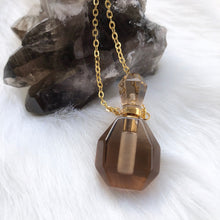 Aroma Gem Necklace - Perfume Bottle - Love & Light Jewels