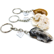Agate Geode Keychain - Love & Light Jewels