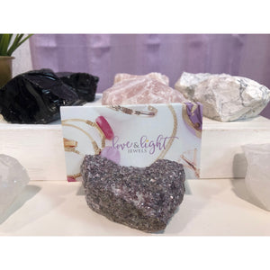 Natural Stone Card Holder - Love & Light Jewels