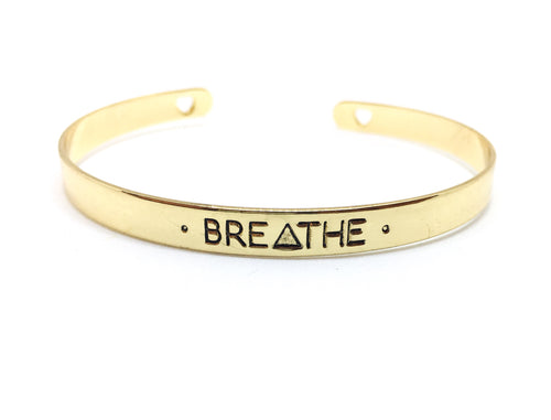 Wear Your Words Mantra Bangle