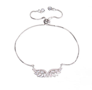 Angel Wings Adjustable Bracelet - Love & Light Jewels