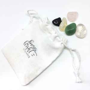 Mood Booster Crystal Pouch - Love & Light Jewels