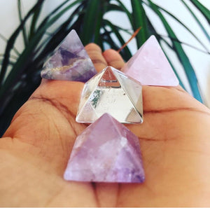 Crystal Pyramid - Love & Light Jewels