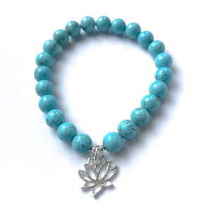 Divine Goddess Throat Chakra Bracelet Stack - Love & Light Jewels