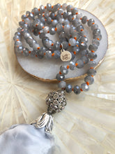Grey Sari Tassel Necklace - Love & Light Jewels