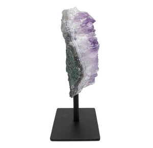 Amethyst Cluster on Stand - Love & Light Jewels