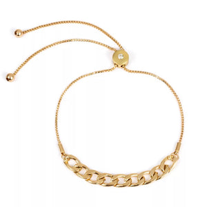 Lustre Link Adjustable Bracelet