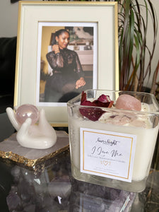 """I Love Me"" Self Love Manifestation Candle"