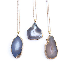 Brazilian Agate Slice Necklace - Love & Light Jewels