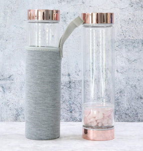 Gemstone Elixir Water Bottle - Love & Light Jewels