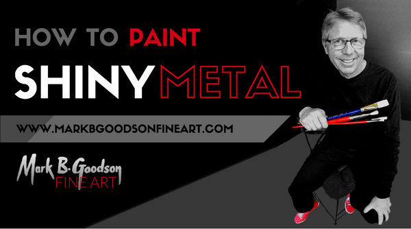 How to Paint Shiny Metal