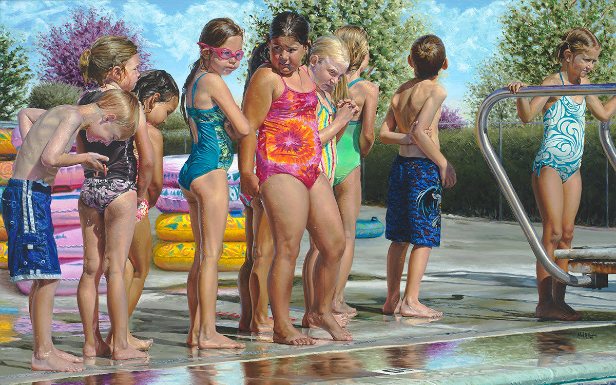 Swimming Lessons by mark B. Goodson