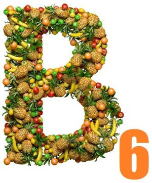 Vitamin B6 helps promote skin health and balances the body's electrolytes.