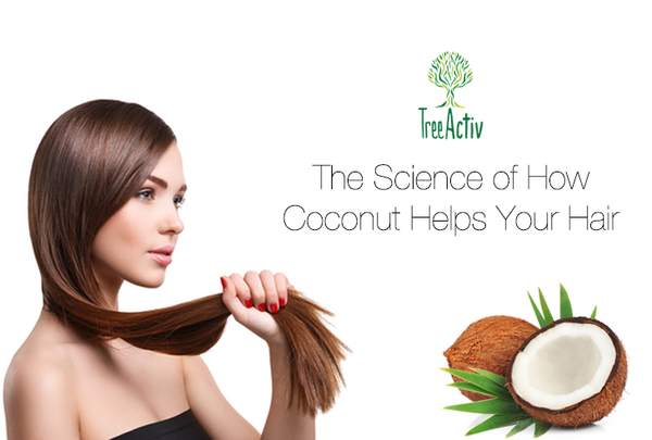 Coconut has benefits for the hair