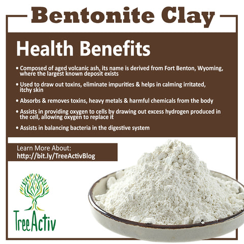 TreeActiv Bentonite Clay Health Benefits