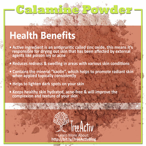 TreeActiv Calamine Powder Health Benefits