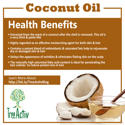 TreeActiv Coconut Oil Health Benefits