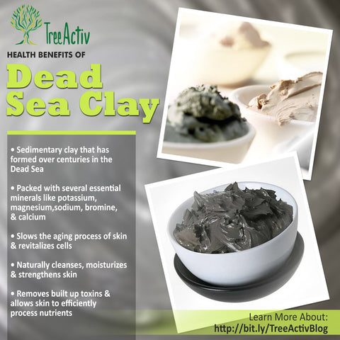 TreeActiv Dead Sea Clay Health Benefits