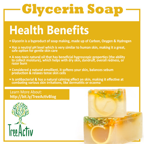 TreeActiv Glycerin Soap Health Benefits
