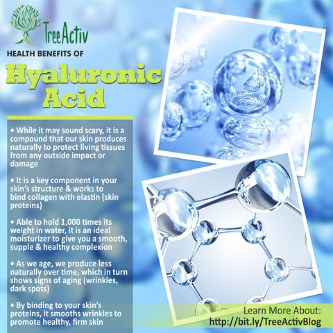 TreeActiv Hyaluronic Acid Health Benefits