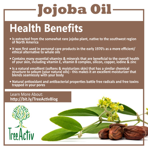TreeActiv Jojoba Oil Health Benefits