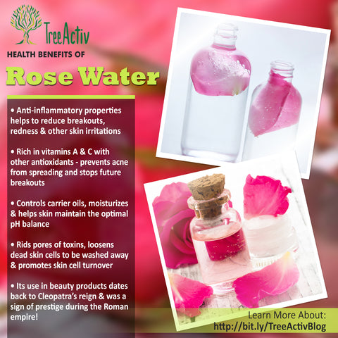 TreeActiv Rose Water Health Benefits