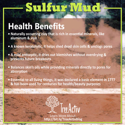 TreeActiv Sulfur Mud Health Benefits