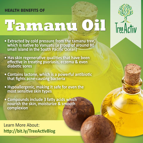 TreeActiv Tamanu Oil Health Benefits