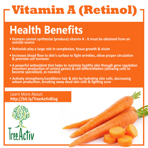 TreeActiv Vitamin A  Retinol Health Benefits