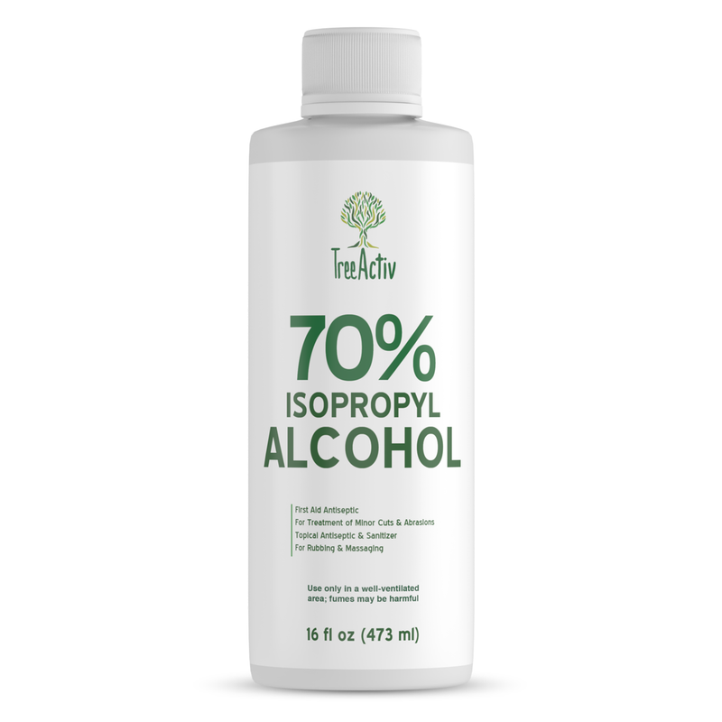 70% Isopropyl Alcohol 16 fl oz - TreeActiv