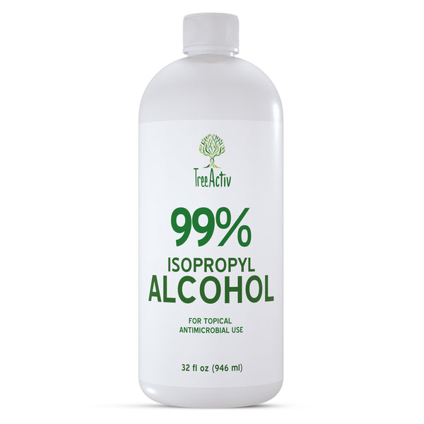 99% Isopropyl Alcohol 32 fl oz - TreeActiv