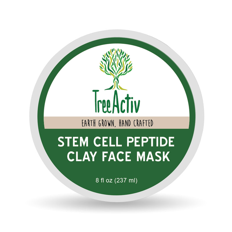 TreeActiv Stem Cell Peptide Clay Face Mask