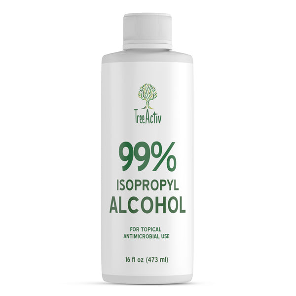 99% Isopropyl Alcohol 16 fl oz - TreeActiv