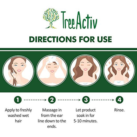 Coconut Silk Amino Acids Hair Treatment Directions For Use TreeActiv