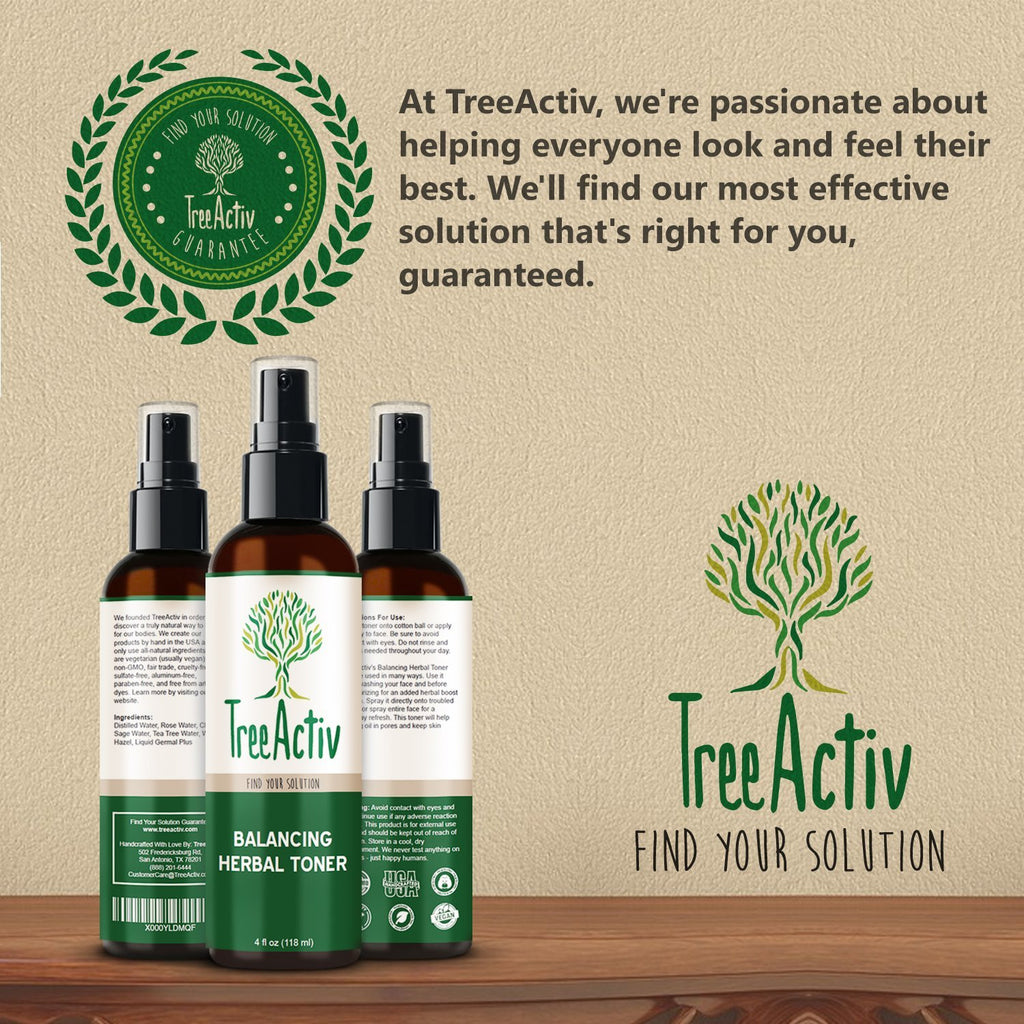 Balancing Herbal Toner Satisfaction Guarantee TreeActiv