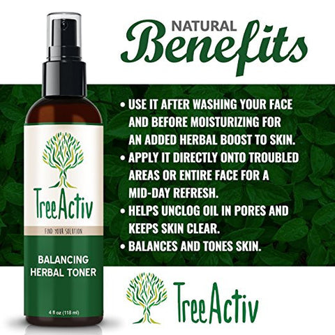 Balancing Herbal Toner Benefits TreeActiv