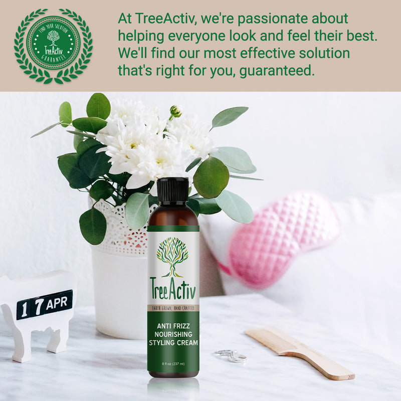 Anti-Frizz Nourishing Styling Cream - TreeActiv
