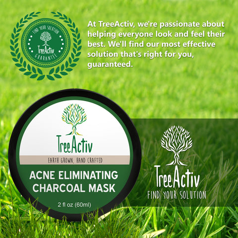Acne Eliminating Charcoal Mask TreeActiv Satisfaction Guaranteed