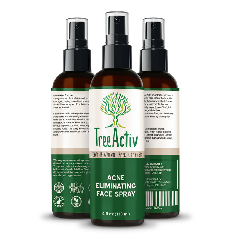 Acne Eliminating Face Spray - TreeActiv