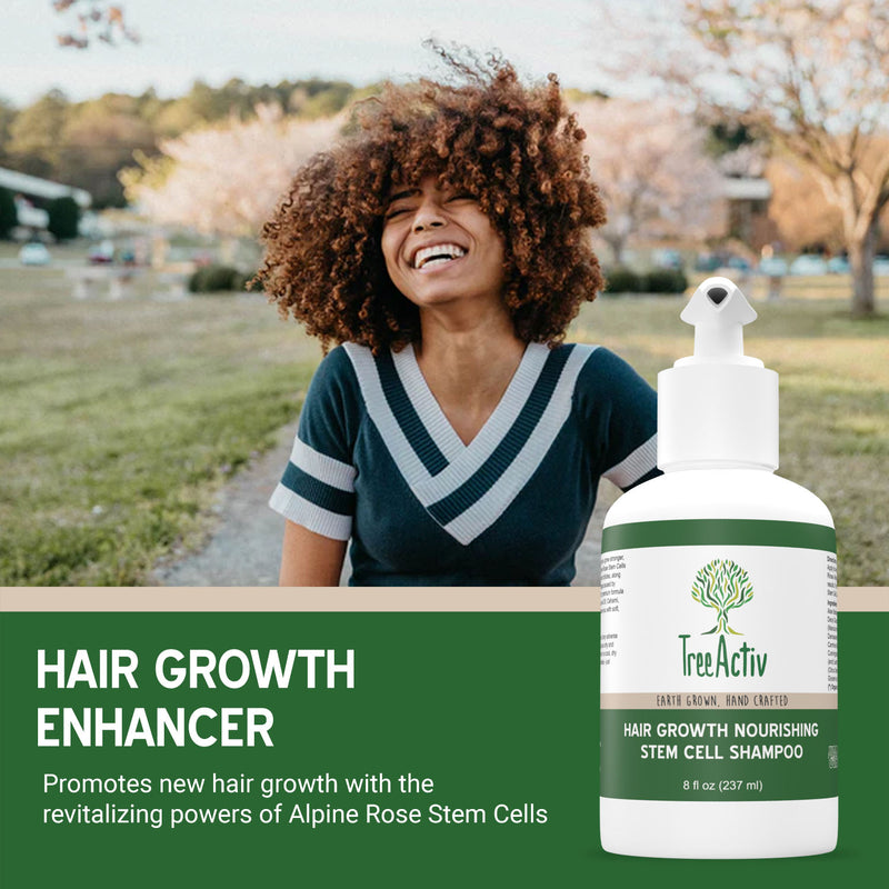 Hair Growth Nourishing Stem Cell Shampoo - TreeActiv